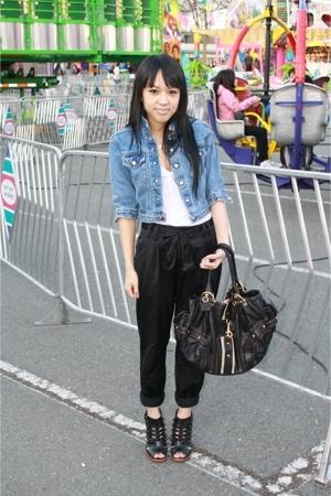 calvin klein jeans - pants - Suzy Shier shirt - Present