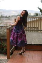 Lela Rose for Target and Neiman Marcus dress - leather Prada heels