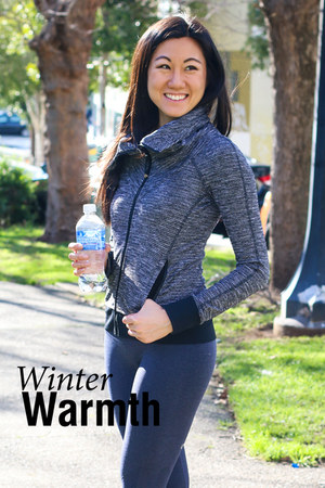 lycra and luon Lululemon jacket - luon leggings