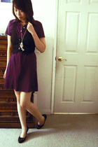jalate vest - American Apparel dress - forever 21 necklace - Isaac Mizrahi for T