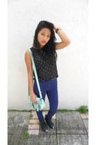 blue H&M pants