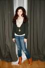 American-apparel-pants-steve-madden-boots-aritzia-sweater-h-m-scarf