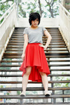 t-shirt - handmade skirt