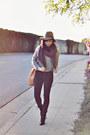 Heather-gray-crop-cableknit-sheinside-sweater-dark-gray-blank-nyc-pants