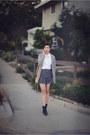Charcoal-gray-joa-skirt