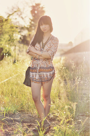 light orange spell & the gypsy collective romper