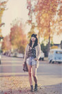 Beige-cozy-forever21-sweater-navy-daisy-print-kirra-top