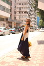 Espadrilles-shoes-topshop-dress-mulberry-bag-zara-vest-rayban-glasses