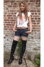 Black-stephan-boots-navy-cute-out-pants-denim-mim-shorts-white-20age