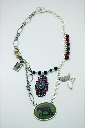 green tarnishjewels necklace
