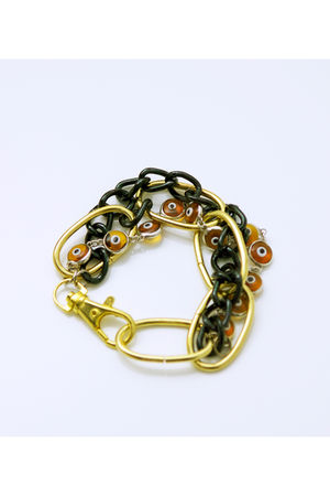 gold Tarnish bracelet