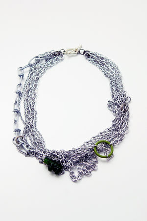 silver Tarnish necklace