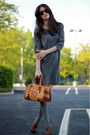Club-monaco-dress-loewe-bag