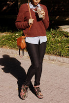 black tapestry Diba heels