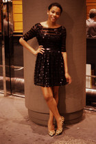 sequin no brand dress