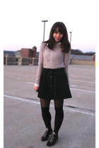 Aldo boots - Pins & Needles sweater - Forever 21 shirt