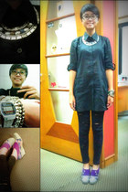 tenun BumikuBatiku wedges - jeans unbranded jeans - cotton LM 4 HW shirt