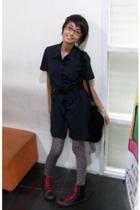 North Star shoes - ColorBox blouse - Orange belt