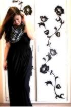 Burberry scarf - bangkok dress