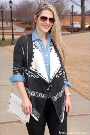 Teodora B jacket - SJP shoes - ann taylor jeans