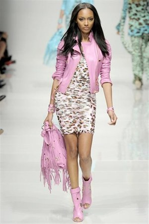 bubble gum blumarine spring 2011 collection of animal and leopard print boots -
