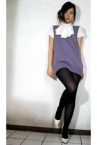vest - blouse - stockings - shoes