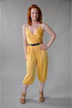 mustard vintage jumper
