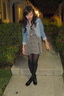 Brandy-melville-dress-h-m-jacket