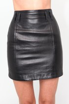 Leather-violet-boutique-vintage-skirt