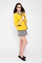 mustard vintage blazer