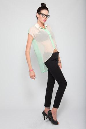 sheer Violet Boutique shirt