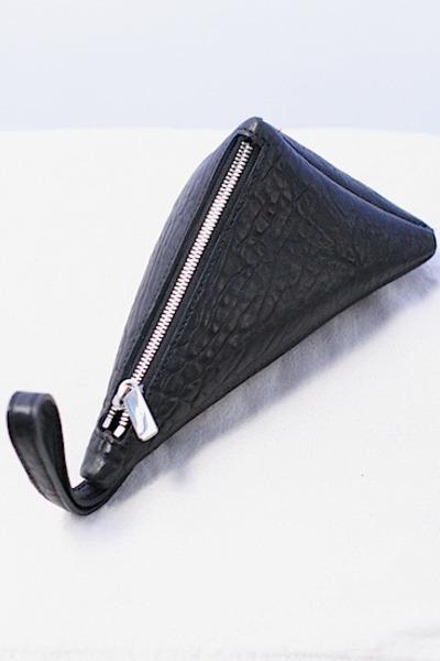 leather clutch Violet Boutique bag