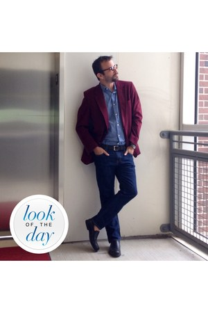 Kingsridge blazer - Old Navy jeans - banana republic shirt - kw sunglasses