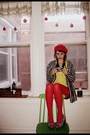 Red-stockings-red-thrifted-hat-blue-shoes-gold-american-apparel-shirt-bl