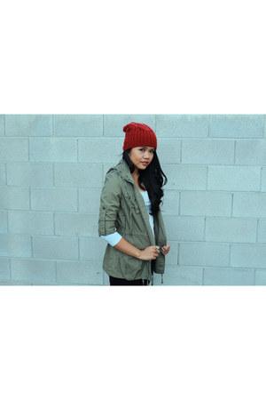 beanie hat - Jacket jacket