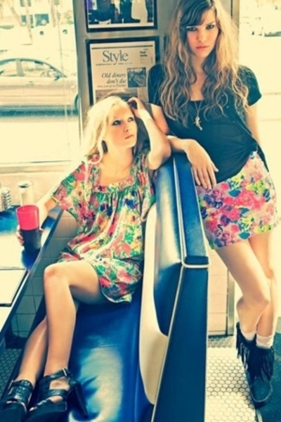 BikBok dress - BikBok shirt - BikBok skirt - shoes - shoes
