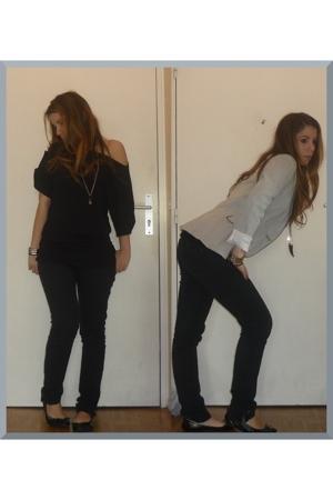 La Redoute sweater - used jean jeans - Zara jacket