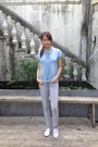 Light-blue-denim-monkee-business-top-heather-gray-penshoppe-pants