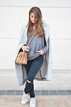 periwinkle Zara coat