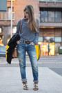 Teal-zara-jeans-navy-newdress-t-shirt