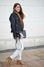 Black-tidebuy-bag-white-forever-21-pants