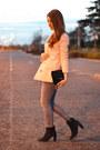 Light-pink-forever-21-blazer
