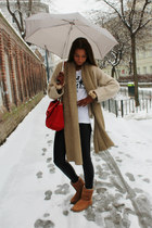 Ugg boots - DIY blazer - Repeat cardigan - H&M pants