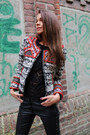 Ruby-red-h-m-jacket-black-h-m-isabel-marant-pants