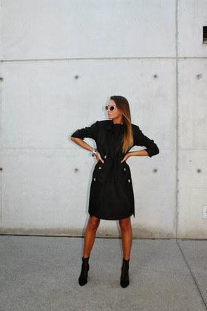 Katrin Kafka coat - H&M boots