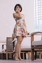 The Ramp dress - suiteblanco heels