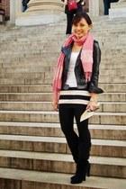 NafNaf jacket - Zara boots - Forever 21 skirt