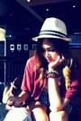 Fedora-hat-vintage-blouse