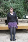 Black-st-johns-bay-cardigan-purple-merona-dress-tights-soda-shoes