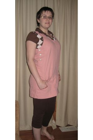 pink Mary Kay wwwmarykaycom accessories - brown Piper and Blue KMart blouse - pi